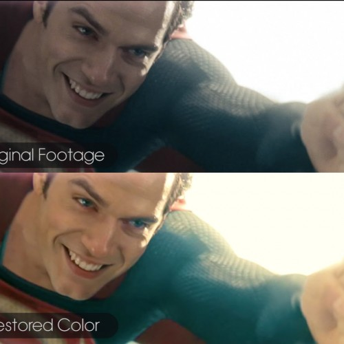 If the Man of Steel movie had 'color'