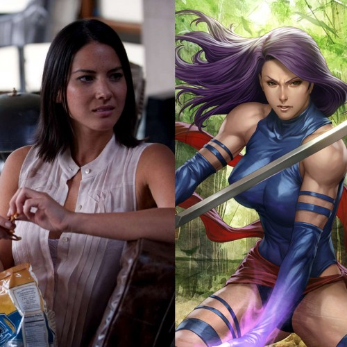 Olivia Munn does fancy sword work in preparation for X-Men: Apocalypse