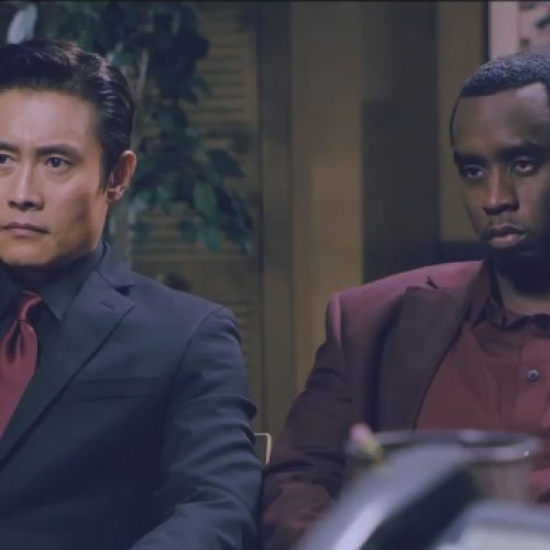 Sean Combs and Byung Hun Lee parody Rush Hour and Face/Off