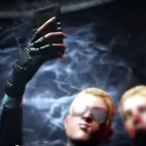 Cassie Cage has a selfie fatality in Mortal Kombat X