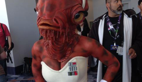 sexy admiral ackbar star wars cosplay thumb