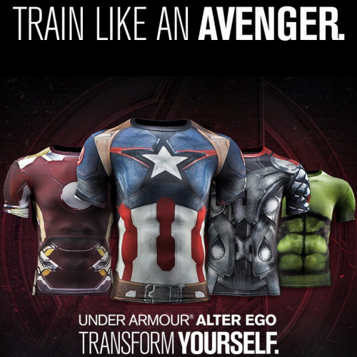 Under Armour's new training gear allows you to be an Avenger