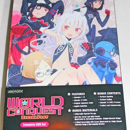 World Conquest Zvezda Plot (review)