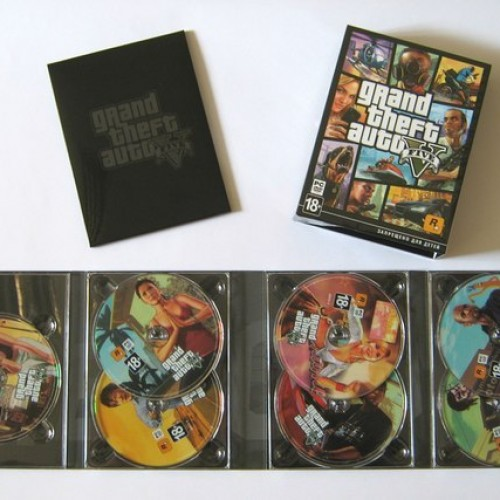 GTA5 for PC will come with 7 discs, total of 65 GB (April 14th)