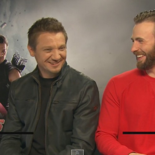 Fans outraged by Chris Evans and Jeremy Renner calling Black Widow a 'slut' and 'whore'