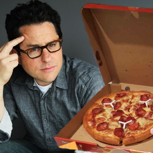 J.J. Abrams buys pizza for fans in line at Star Wars: The Force Awakens panel