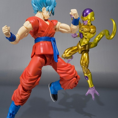 Super Saiyan God SS Goku and Golden Frieza S.H. Figuarts coming November