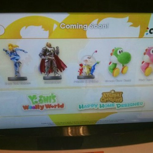 Nintendo's next wave of amiibo may see more store exclusives?