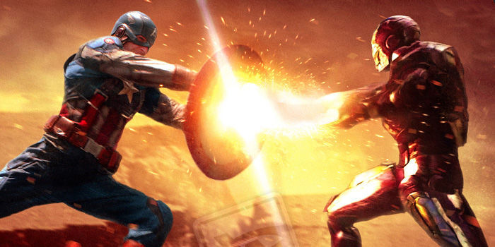 CAPTAIN AMERICA CIVIL WAR  - Page 6 Captain-America-3-Civil-War-Fan-Art-Battling-Iron-Man