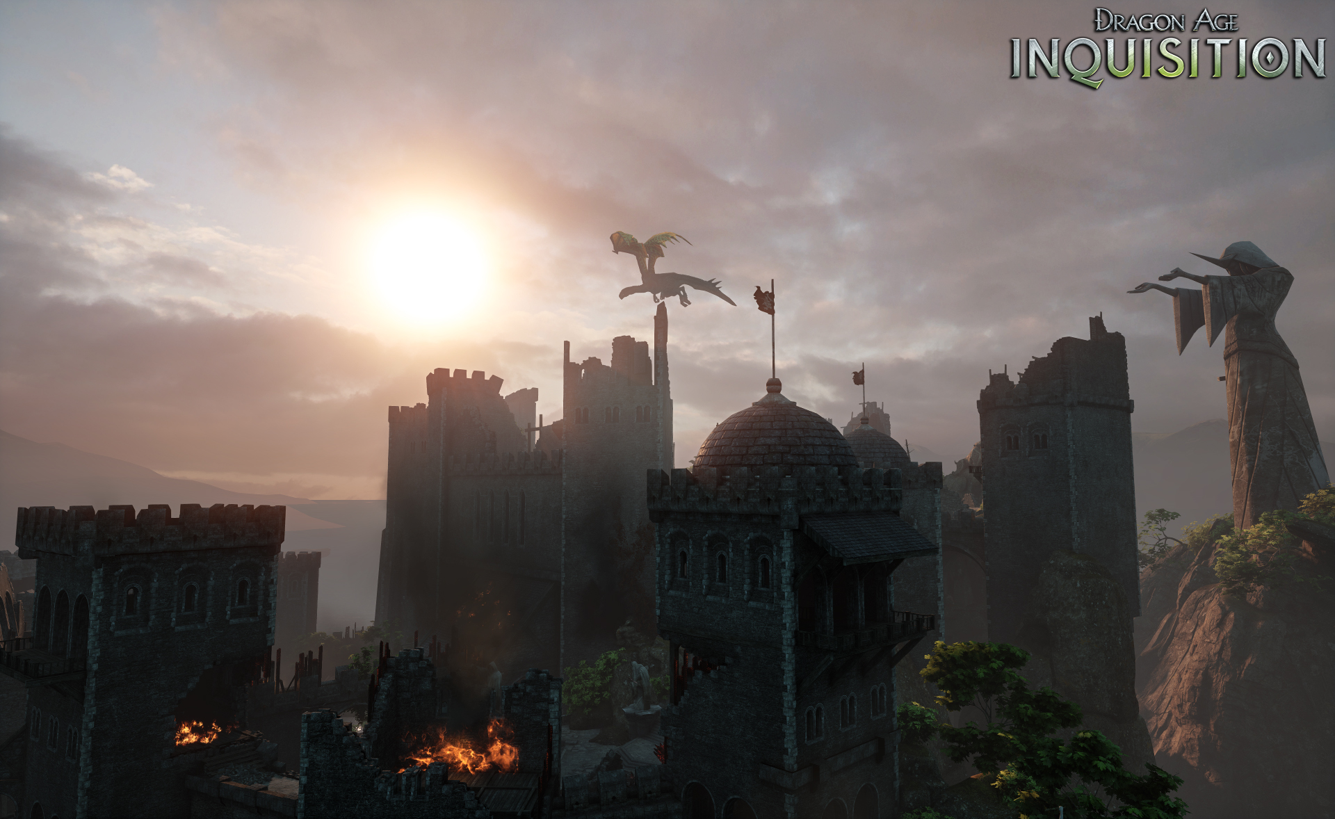 Dragon Age Inquisition Консоль