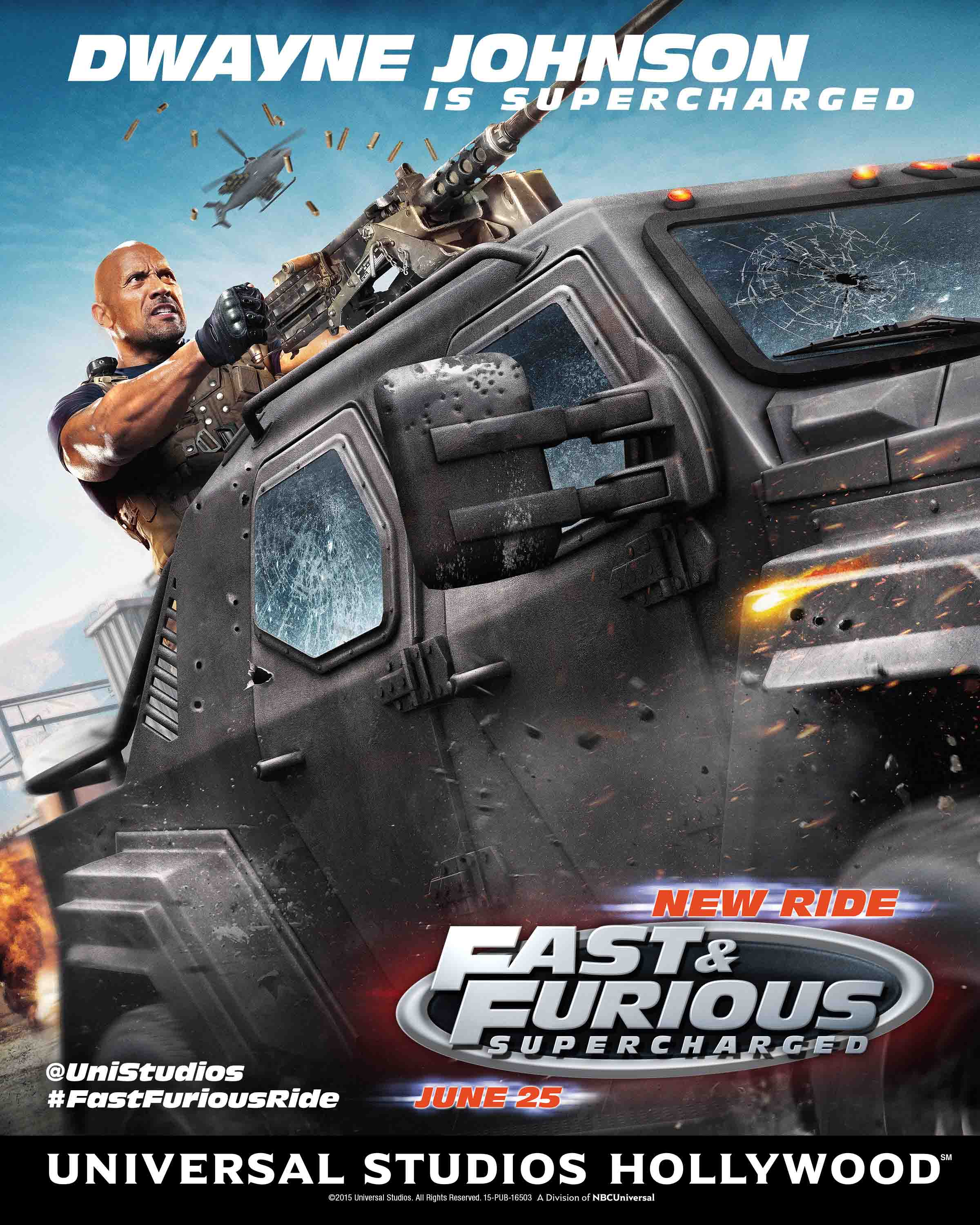 Fast Furious-Supercharged Dwayne Johnson image