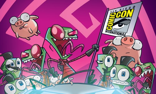 Invader Zim issue #2 and issue #1 Comic-Con variant revealed