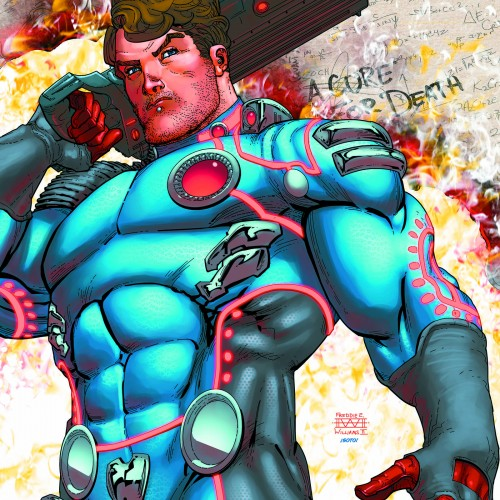 Arrow producer/writer Marc Guggenheim working on The Infinite Adventures of Jonas Quantum comic