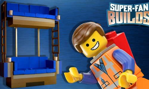 Super Fan Builds creates real-life LEGO Movie double decker couch