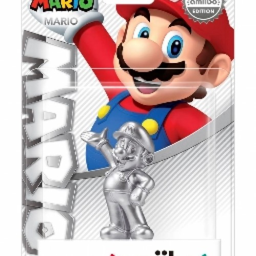 Silver Mario amiibo arriving in stores on May 29