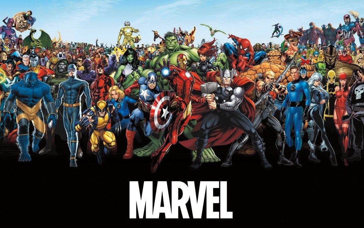 New marvel poster lineup shows no love for x men and - All marvel heroes wallpaper ...