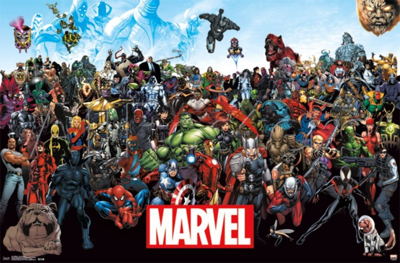 Marvel Line Up 3