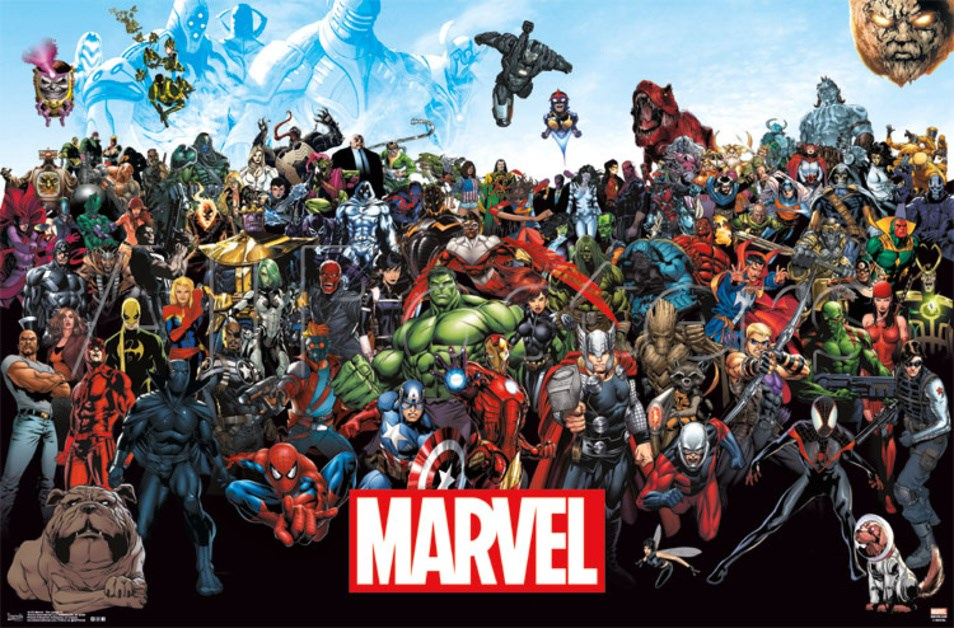 New Marvel poster lineup shows no love for X-Men and Fantastic Four ... Marvel