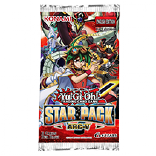 Yu-Gi-Oh! Star Pack: ARC-V is coming