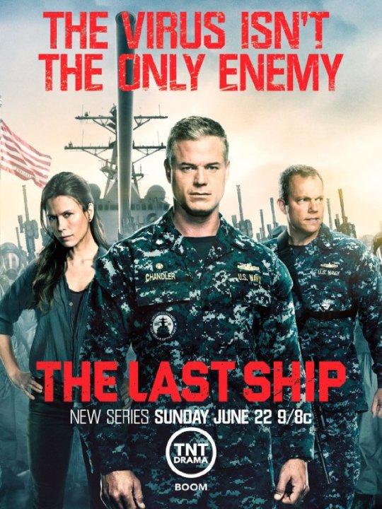 Eric Dane The Last Ship 2015