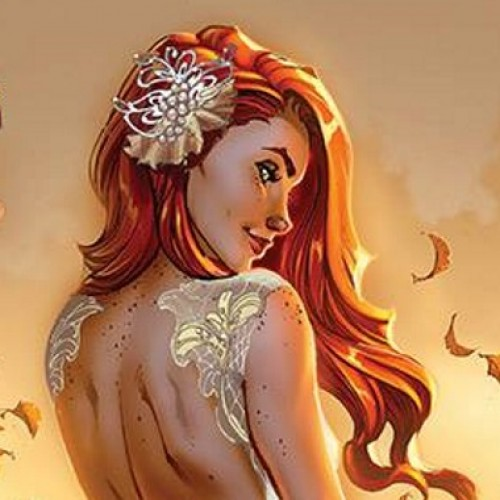 Mary Jane shows off her wedding dress in Amazing Spider-Man variant cover