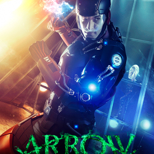 The Atom gets a poster for new Arrow episode
