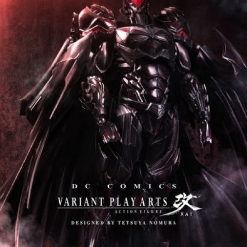 Batman Variant Play Arts Kai designed by Tetsuya Nomura releasing in July