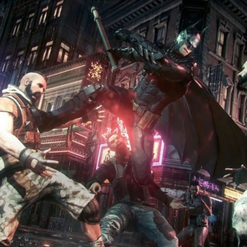 Watch Batman and Nightwing fight together in Batman: Arkham Knight's Dual Play feature