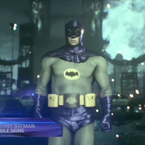 Batman: Arkham Knight on PS4 to get Adam West's Batman and Batmobile and Scarecrow Nightmare Missions