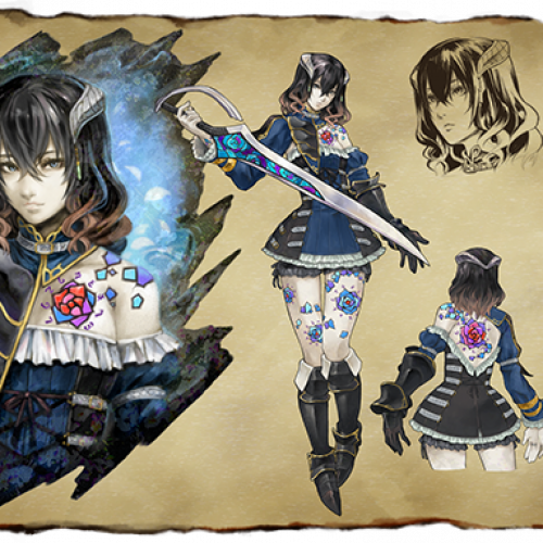 Koji Igarashi has a kickstater for Bloodstained: Ritual of the Night