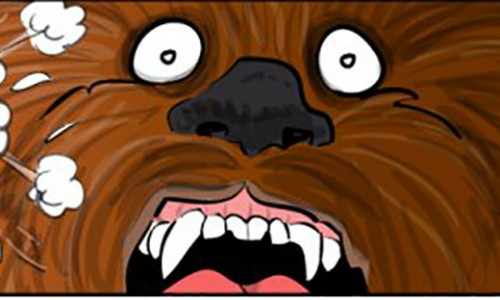 Chewie, we're home… and it's a nightmare (comic)