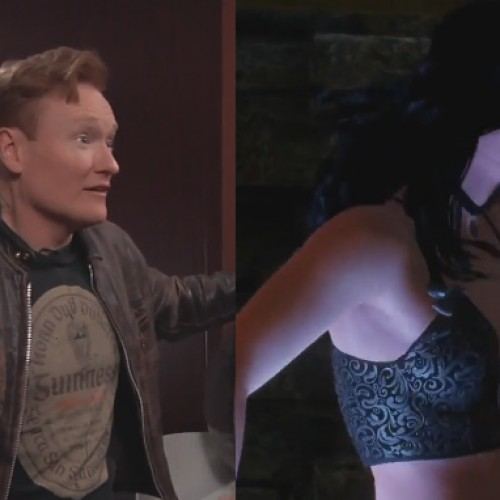 Conan O'Brien hunts for sex in Witcher 3: Wild Hunt