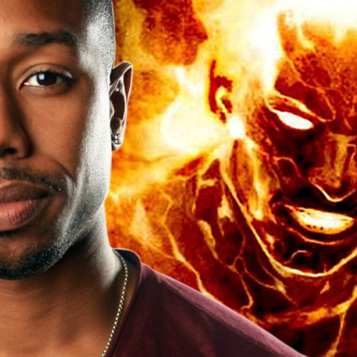 Michael B. Jordan's responses to criticism of being Black Human Torch
