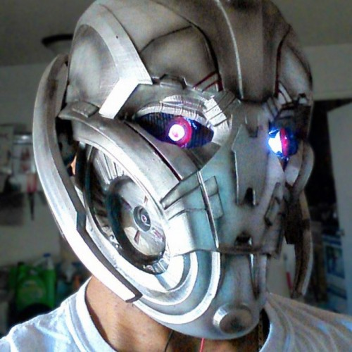 Epic Age of Ultron cosplay by Hero Complex Props