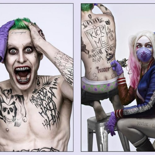 Harley Quinn tattooing the Joker photo revealed as a fan project