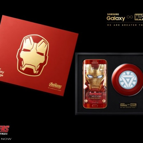 South Korea gets an Iron Man-themed Samsung Galaxy S6