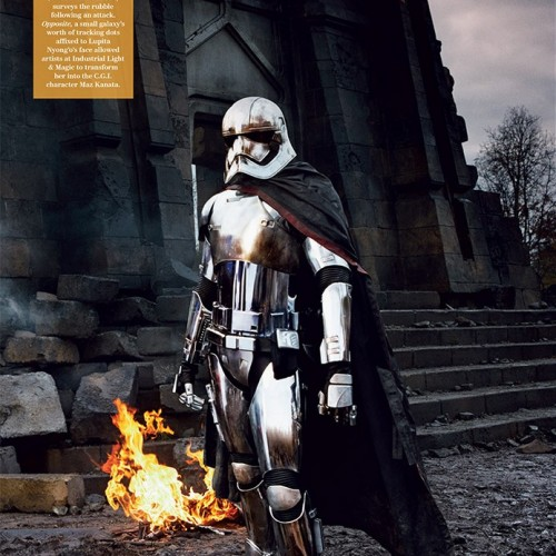 Gwendoline Christie's character revealed in Star Wars: The Force Awakens