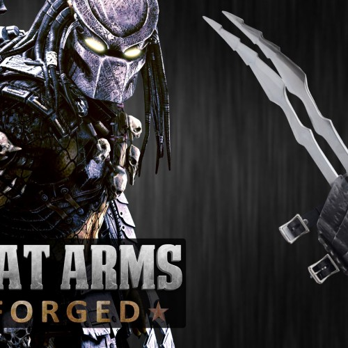 Live for the hunt: Man at Arms makes Predator blades