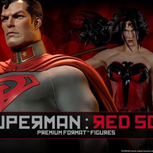 Superman – Red Son Premium Format Figure coming from Sideshow Collectibles
