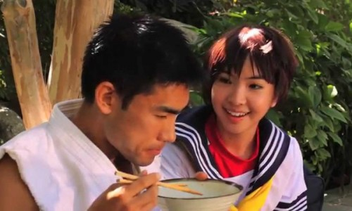 Ryu tries to have a peaceful lunch in live-action Street Fighter fan film