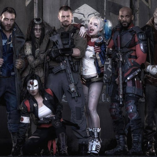 New hot Suicide Squad photos of Harley and Deadshot on set