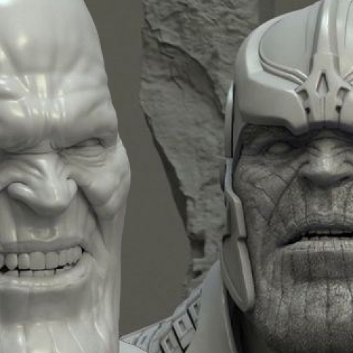 Breakdown video of the VFX behind Thanos in Guardians of the Galaxy