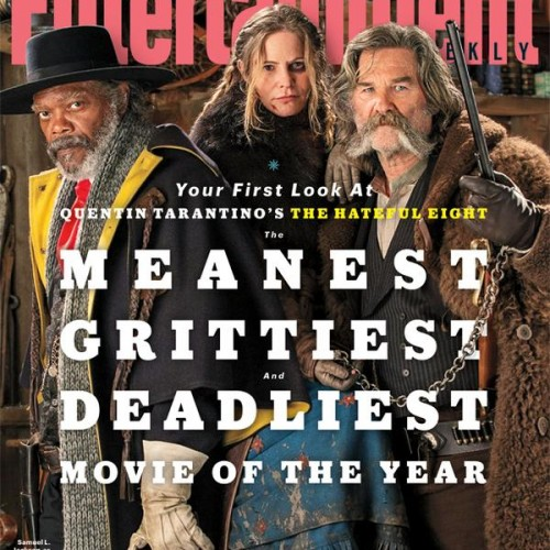 Meet the three from Quentin Tarantino's The Hateful Eight