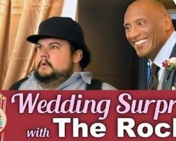 the rock wedding