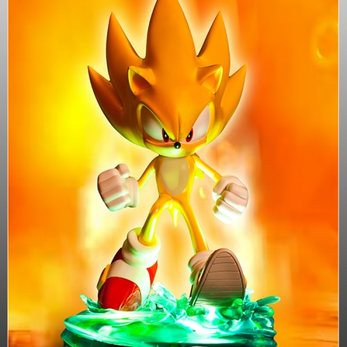 Modern Super Sonic First 4 figures