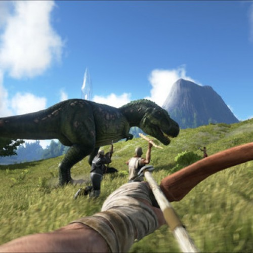 A dinosaur and dragon survival game coming to Steam? Oh my!