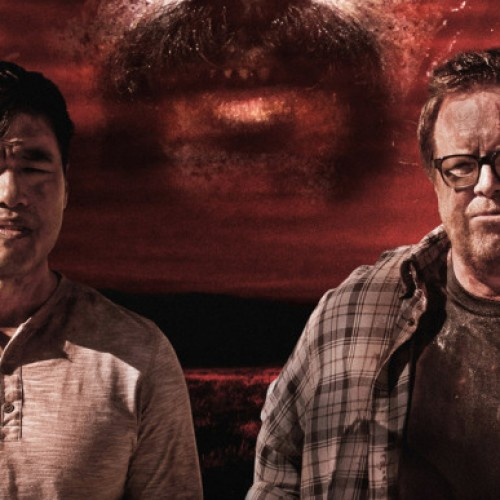 Randall Park and Steve Agee team up in the horror-comedy Amigo Undead