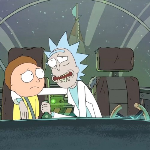 Rick and Morty invade The Simpsons couch gag this Sunday