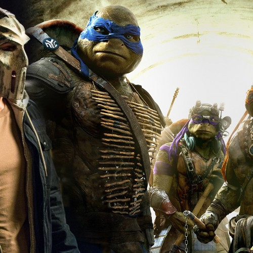 Bebop and Shredder on-set photos for Teenage Mutant Ninja Turtles 2