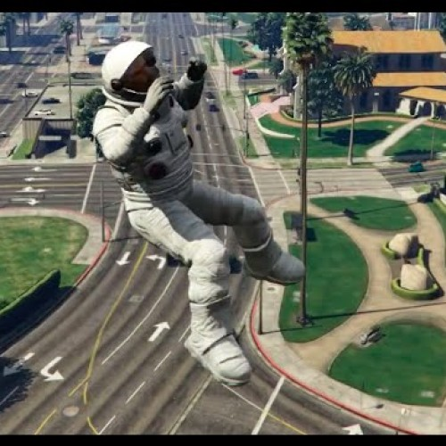 GTA V's moon physics and Carmageddon mod video is hilarious